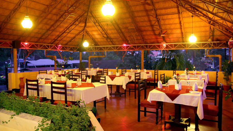 Hotel Arches, Fort Kochi Kochi open room roof top restaurant 2 Hotel Arches Fort Kochi