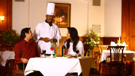 The Carlton Kodaikanal Kodaikanal The Silver Oak Restaurant The Carlton Hotel Kodaikanal