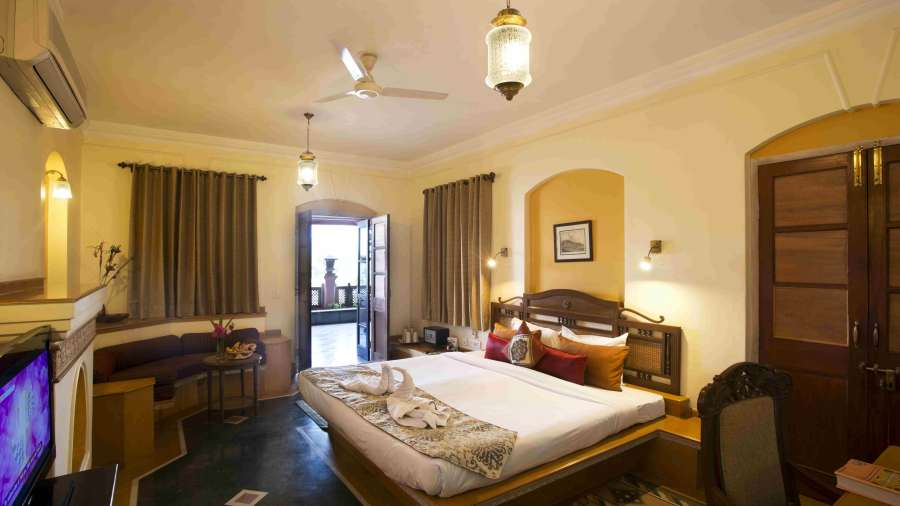 The Haveli Hari Ganga  Haridwar Suite Room at The Haveli Hari Ganga Hotel Haridwar
