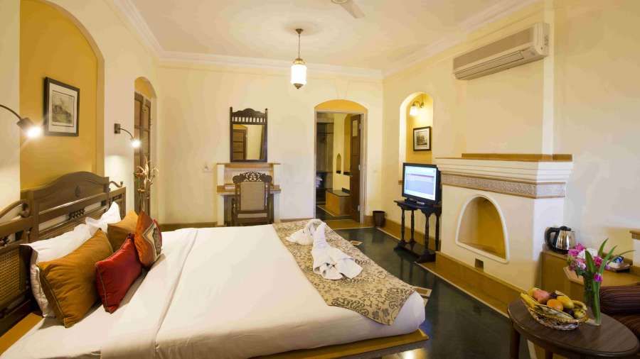 The Haveli Hari Ganga  Haridwar Superior Room at The Haveli Hari Ganga Hotel Haridwar