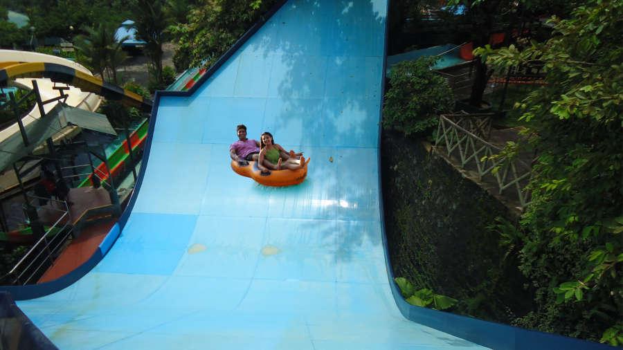 Water Rides - Water Pendulum at Wonderla Kochi Amusement Park
