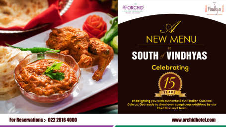 The Orchid - Five Star Ecotel Hotel Mumbai south of vindhyas orchid hotel mumbai