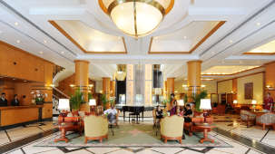 Lobby of The Orchid Hotel Mumbai