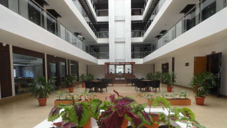 VITS Hotels  Open Coffee shop Area at Hotel VITS Allum Bellary
