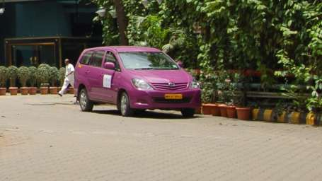 Complimentary Mumbai Airport transfers in an Innova at the Orchid Hotel Mumbai
