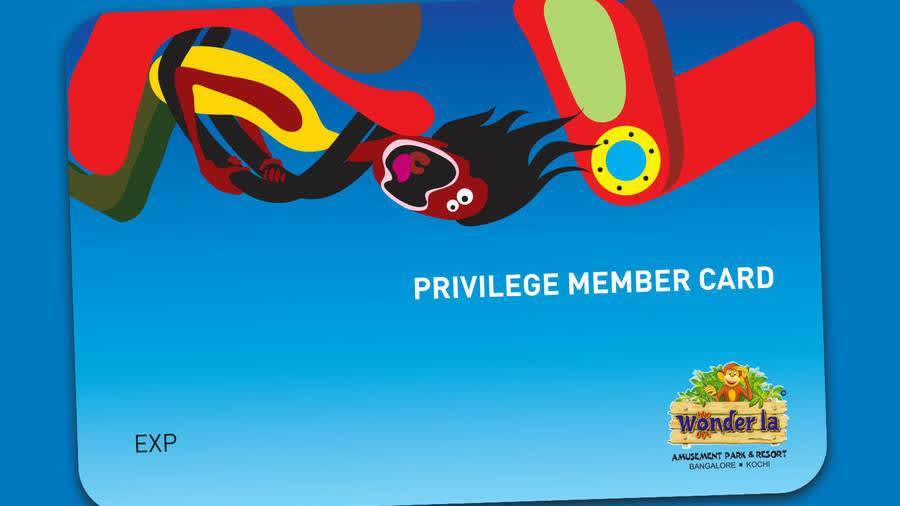 Privilege Member Card Offer at Wonderla Amusement Park Bangalore
