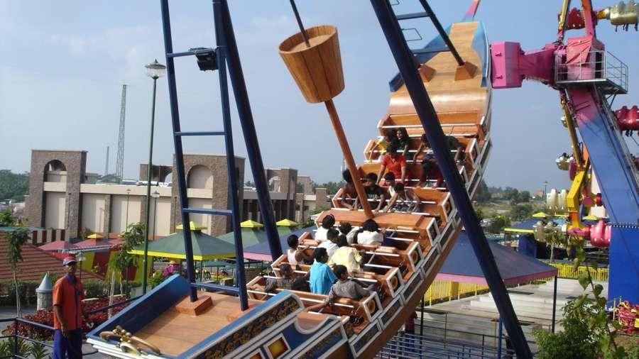 Wonderla Amusement Park Bangalore Bangalore dry rides pirate ship 1 wonderla amusement parks bangalore