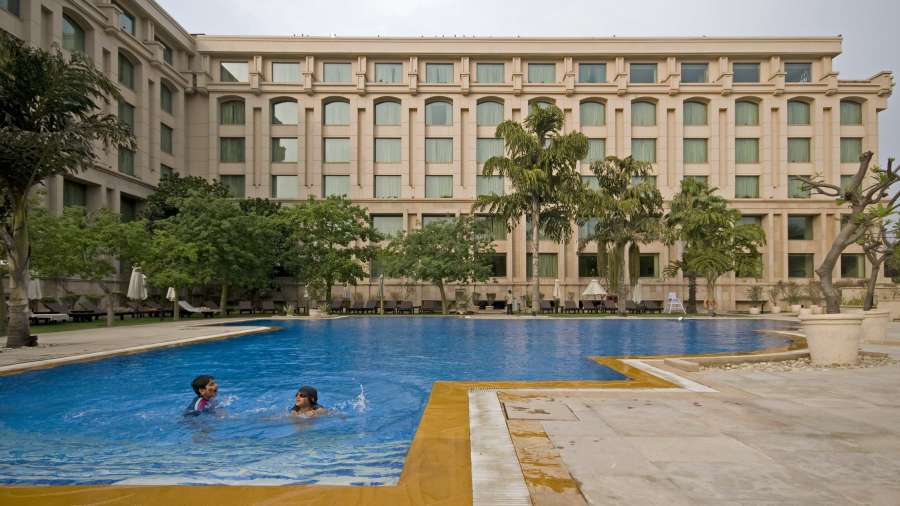 Swimming Pool at The Grand Hotel New Delhi