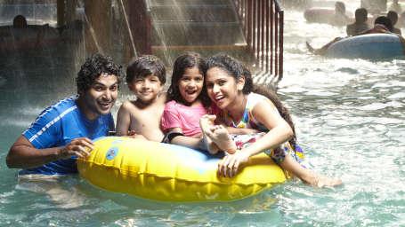 Water Rides - Play Pool at Wonderla Kochi Amusement Park