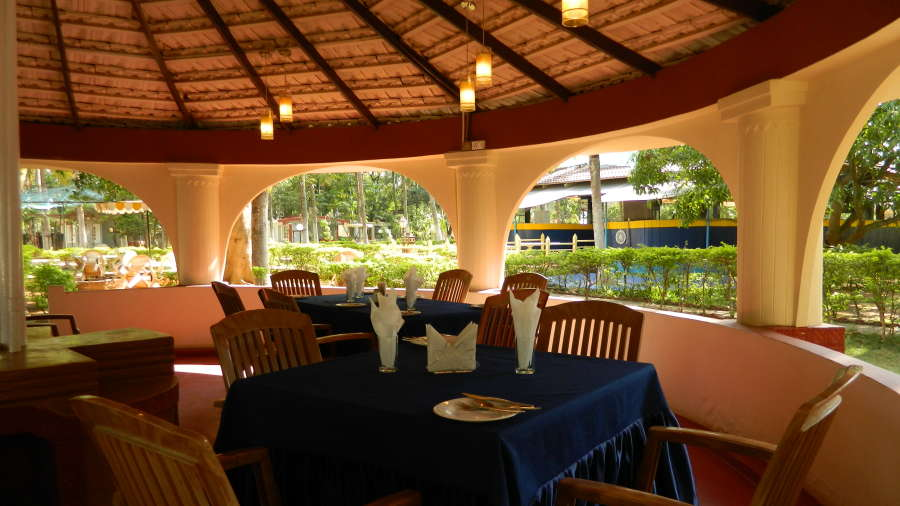 Fantasy Golf Resort Bangalore Gazebo Restaurant at Fantasy Golf Resort Bangalore