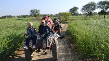 Camel Cart Ride at Umaid Lake Palace Hotel Kalakho Dausa Rajasthan