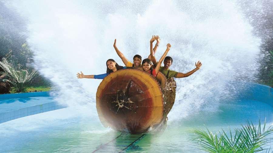 Water Rides - Wonder Splash at Wonderla Kochi Amusement Park