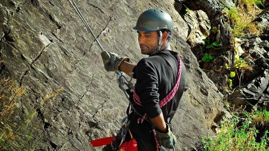 Rock Climbing in Rishikesh Rock Climbing