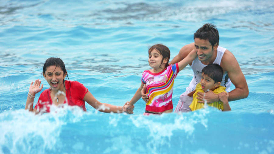 Water Rides at  Wonderla Amusement Park Bangalore