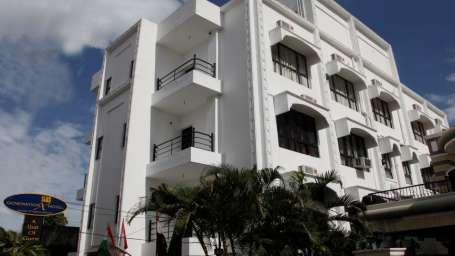 GenX Hotels India  Front facade of GenX Banjara Hill Hyderabad