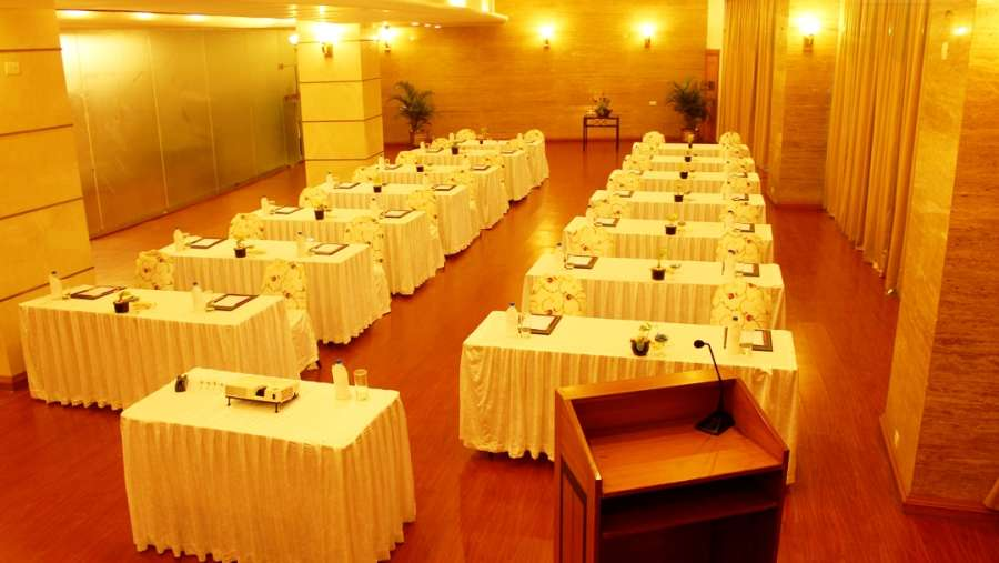 The Orchid - Five Star Ecotel Hotel Mumbai Prive Classroom Setting 1 Orchid Mumbai Hotel
