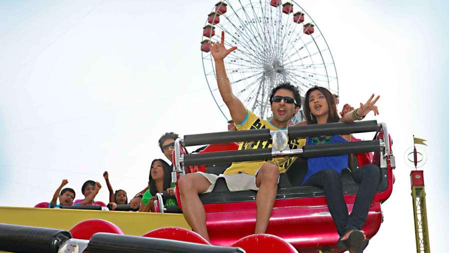 Wonderla Amusement Park Bangalore Bangalore dry rides techno jump 1 wonderla amusement parks bangalore