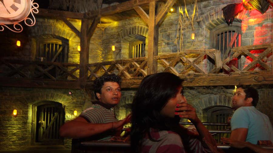 Wonderla Amusement Park Bangalore Bangalore dry rides dungeon ride 1 wonderla amusement parks bangalore