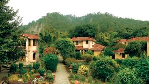 Leisure Hotels  the river view retreat resort in jim corbett national park