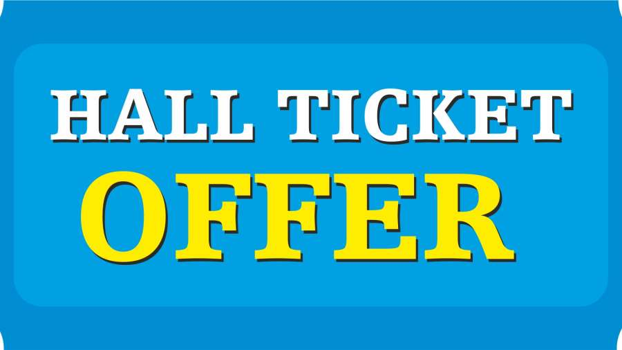 Hall Ticket Offer at Wonderla Amusement Parks & Resort