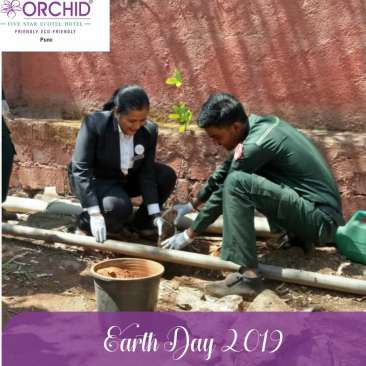 Earth Day 1 the orchid hotel pune