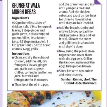 Print Media Coverage, The Orchid Hotel, Best Hotel In Pune 3