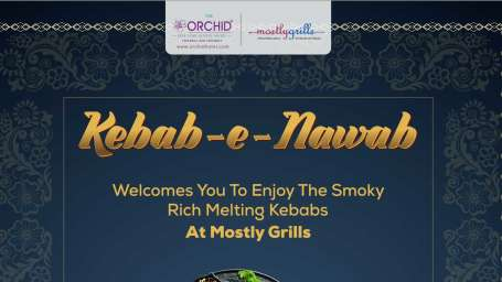 The Orchid Hotel - Mumbai KEBAB Festival Artwork