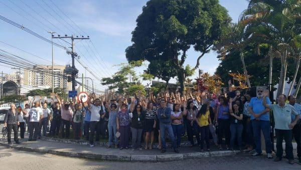Trabalhadores da Cobra no RJ aprovam adesão à greve geral