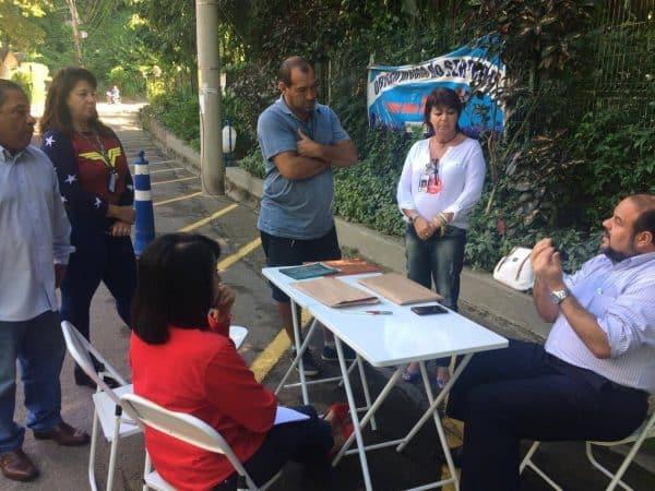 Jurídico Móvel no Serpro aborda sobre ações de FCT e FCA com os trabalhadores