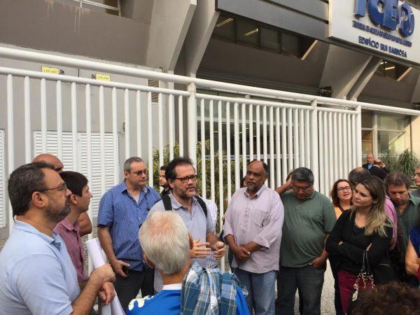 Trabalhadores do Proderj continuam na luta por melhores condições de trabalho