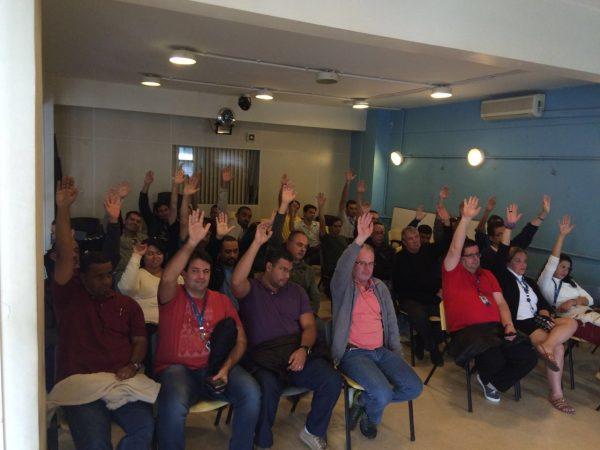 IplanRio – Trabalhadores rejeitam proposta da empresa