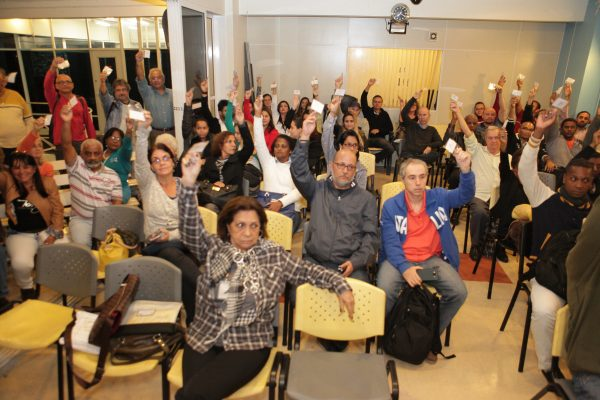 Trabalhadores elegem delegados ao 19º Congresso da Fenadados