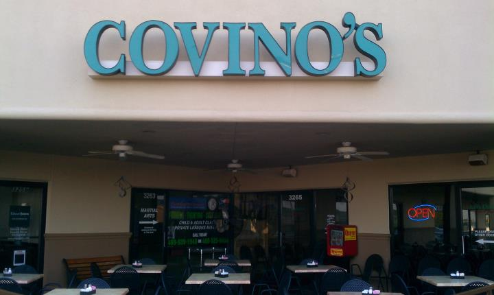 covinos at Covino's Pasta & Pizza