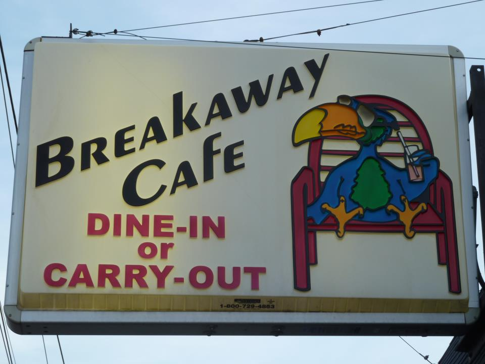 1 at Breakaway Cafe