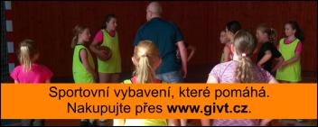 Sportovní vybavení, které pomáhá. Nakupujte přes www.givt.cz.