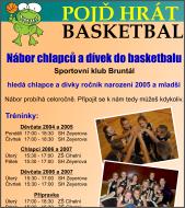 Pojď hrát basketbal!