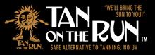 tan on the run logo