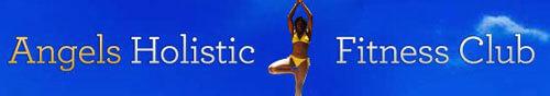 angels holistic fitness club logo