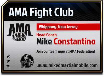 ama fight club MMA federation