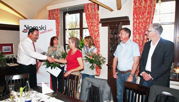 Mitarbeiterehrung in Osterhofen