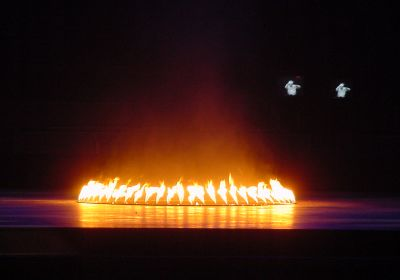 Gas Flares for Events and Show