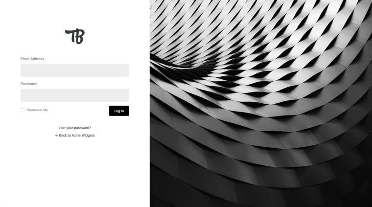Custom WordPress Admin Login Form