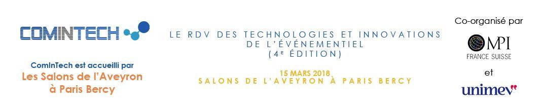 ComInTech, le RDV de l'innovation de l'événementiel