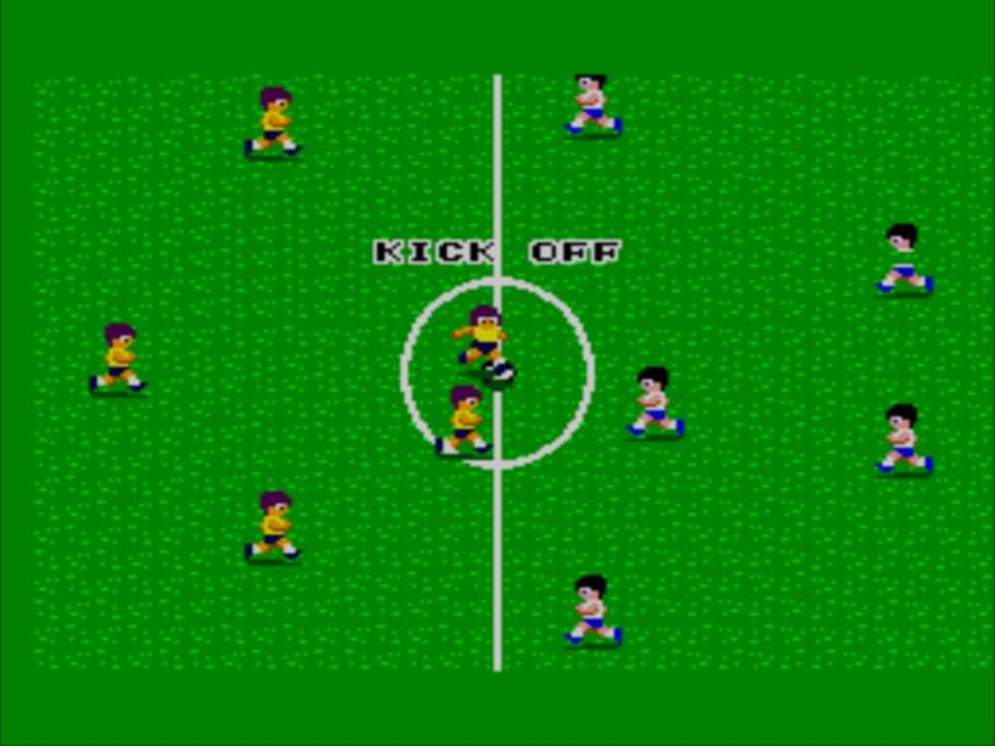 World Soccer - Screenshot 1