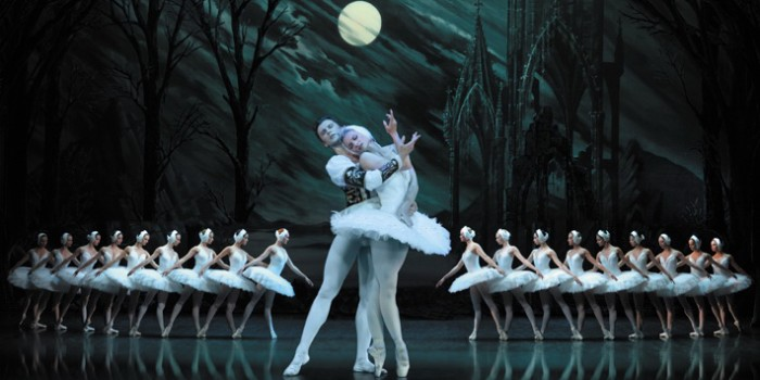 Irina Kolsenikova in St Petersburg Ballet Theatre's Swan Lake