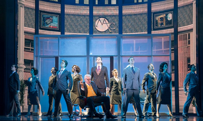 The cast of Big The Musical. Photo by Alastair Muir