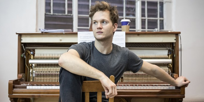 Seb Carrington in rehearsal for Summer And Smoke (Photo: Marc Brenner)