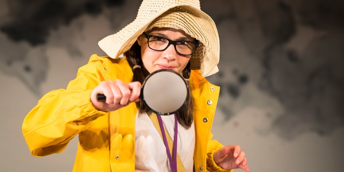 Rebecca Newman in We're Going On A Bear Hunt (Photo: Lesley Cook)