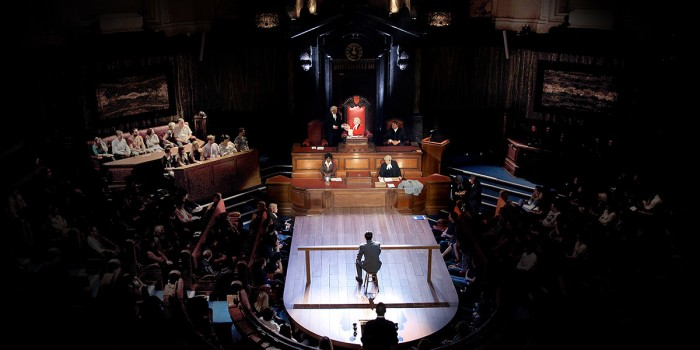 Witness For The Prosecution at London's County Hall (Photo: Sheila Burnett)