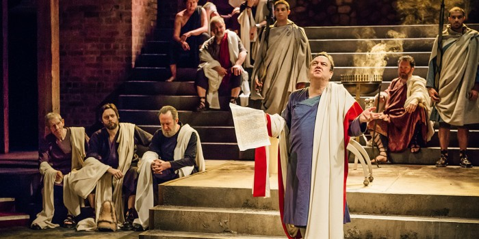 Imperium Part I: Conspirator in Stratford-upon-Avon (Photo: Ikin Yum/RSC)